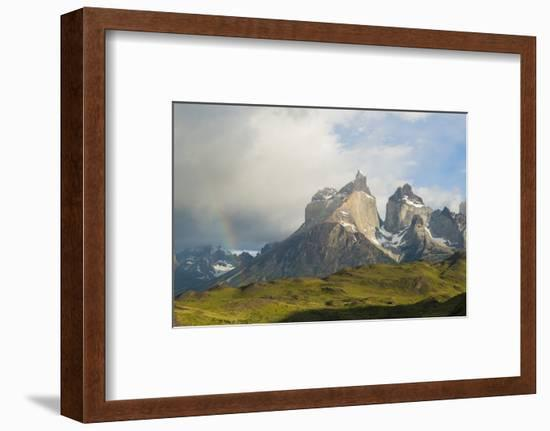 Torres Del Paine National Park, Patagonia, Chile, South America--Framed Photographic Print