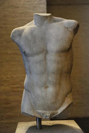 Torso of a Statue of Apollo. Roman Sculpture after Original of About 460 BC. Glyptothek. Munich--Giclee Print