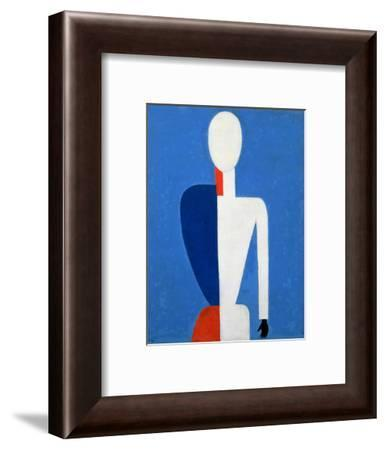 Torso, Transformation to a New Shape, 1928-32-Kasimir Malevich-Framed Giclee Print