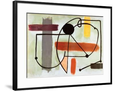Torso-Joan Miro-Framed Art Print
