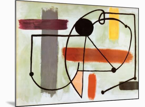 Torso-Joan Miro-Mounted Art Print