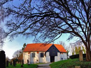 Baltic Sea Island of Hiddensee, Cloister, Village Church and Cemetery Island by Torsten Elger