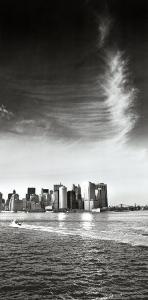 View to Downtown Manhattan from Staten I by Torsten Hoffman