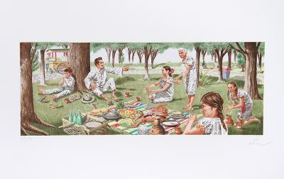 Tortillas Are The Staff of Life-Vic Herman-Collectable Print