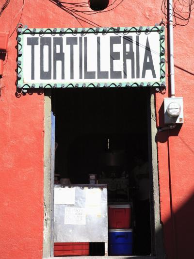 Tortilleria (Tortilla Shop), Guanajuato, Guanajuato State, Mexico, North America-Wendy Connett-Photographic Print