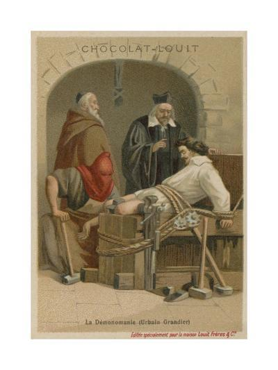 Torture of Urbain Grandier--Giclee Print