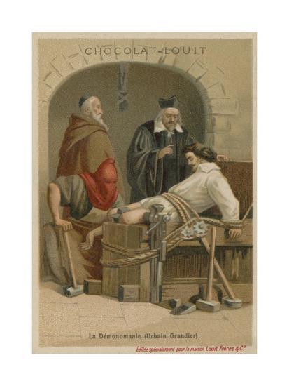 Torture of Urbain Grandier--Giclee Print
