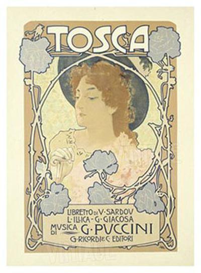 Tosca-Leopoldo Metlicovitz-Giclee Print