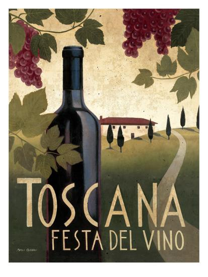 Toscana Festa Del Vino-Marco Fabiano-Art Print