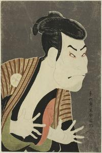 The Actor Otani Oniji III as Edobei, 1794 by Toshusai Sharaku