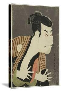 The Actor Otani Oniji III as Edobei, 1794 by Toshusai Sharaku