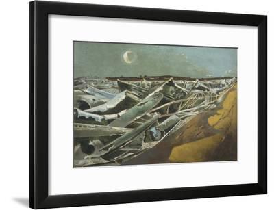 Totes Meer (Dead Sea)-Paul Nash-Framed Giclee Print