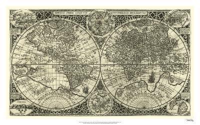 Totius Orbis Cogniti, Leiden, 1605-Paulus Merula-Giclee Print