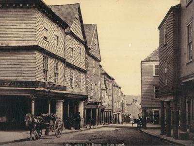 Totnes, Old Houses in High Street--Photographic Print