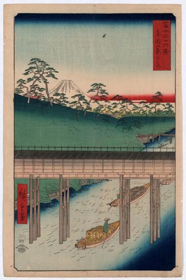 Toto Ochanomizu-Utagawa Hiroshige-Giclee Print