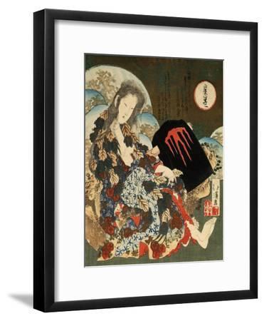 Yama-Uba with Kintaro, 1840S