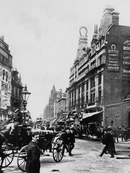 Tottenham Court Road C. 1895--Photographic Print