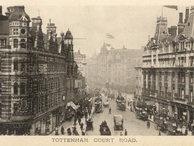 Tottenham Court Road--Photographic Print