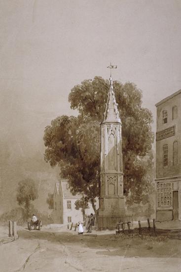 Tottenham High Road, London, C1820-George Harley-Giclee Print