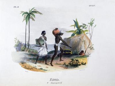 Tottis, 1828-Jean Henri Marlet-Giclee Print