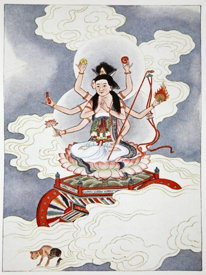 Tou Mu, Goddess of the North Star, 1922-Unknown-Giclee Print