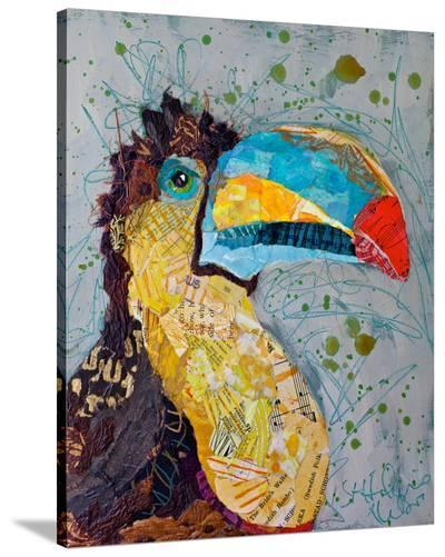 Toucan Dance--Stretched Canvas Print