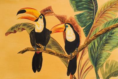 Toucans I-Linda Baliko-Art Print