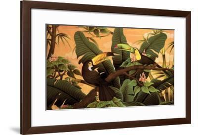 Toucans-Kevin McPherrin-Framed Art Print