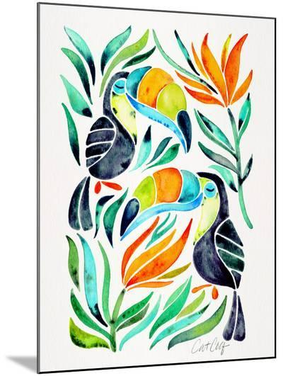 Toucans-Cat Coquillette-Mounted Print