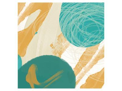 Touch II-Yashna-Art Print