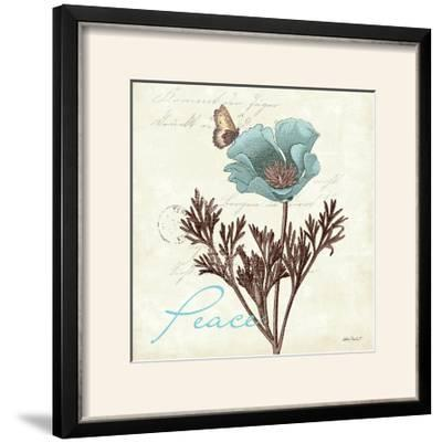 Touch of Blue I-Katie Pertiet-Framed Photographic Print