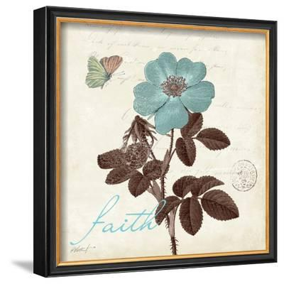 Touch of Blue II, Faith-Katie Pertiet-Framed Art Print