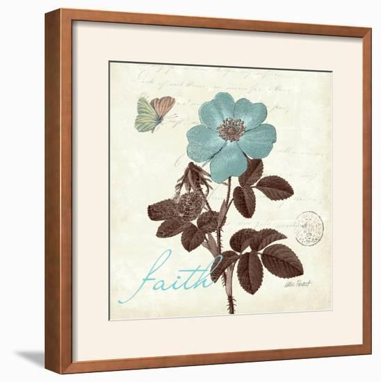 Touch of Blue II-Katie Pertiet-Framed Photographic Print