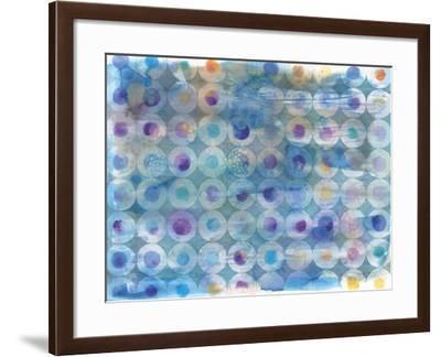 Touching Circles-Danhui Nai-Framed Art Print