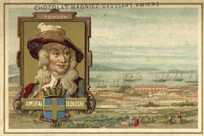 Toulon - Admiral Duquesne--Giclee Print