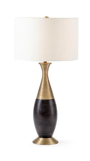 Toulon Wood and Metal Table Lamp--Home Accessories