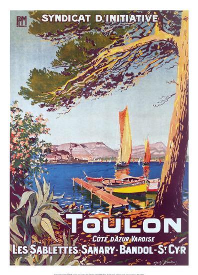 Toulon--Art Print