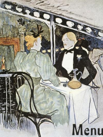 Toulouse-Lautrec: Menu-Henri de Toulouse-Lautrec-Giclee Print