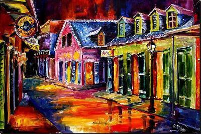 Toulouse Street by Night-Diane Millsap-Art Print