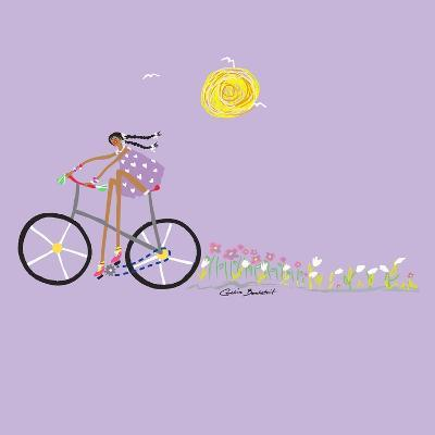 Tour de Girls 2-Caroline Benchétrit-Art Print