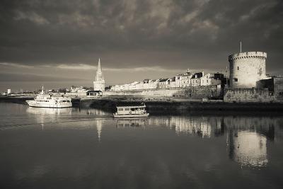 Tour De La Lanterne and Tour De La Chaine Towers, La Rochelle, Charente-Maritime--Photographic Print