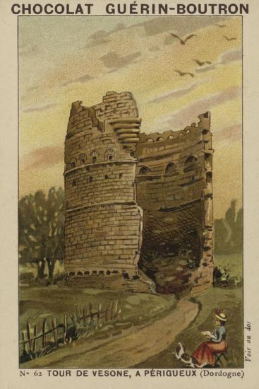 Tour De Vesone, a Perigueux, Dordogne--Giclee Print