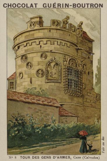 Tour Des Gens D'Armes, Caen, Calvados--Giclee Print