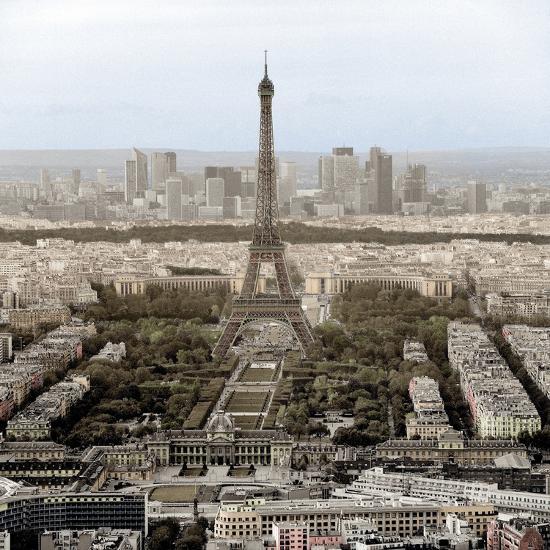 Tour Eiffel #14-Alan Blaustein-Photographic Print