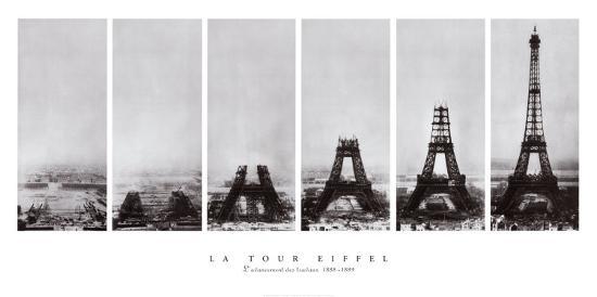 Tour Eiffel--Art Print