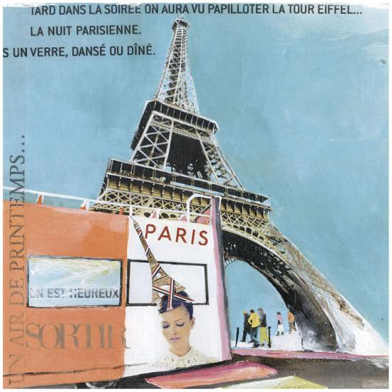 Tour Eiffel-Lizie-Art Print