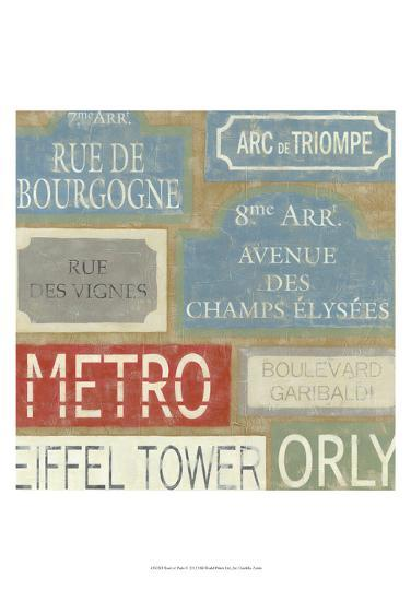 Tour of Paris-Chariklia Zarris-Art Print