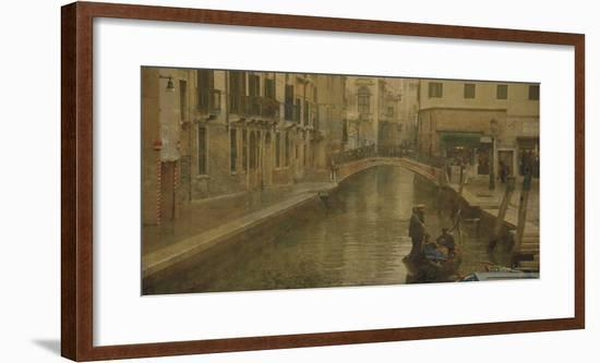 Tour of Venice III-Terry Lawrence-Framed Art Print