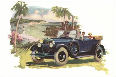 Touring by the Coast--Art Print
