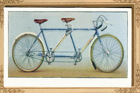 'Touring Tandem', 1939-Unknown-Giclee Print